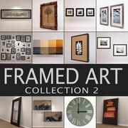 Colección de arte 2 modelo 3d