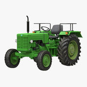 Modelo 3D del tractor genérico modelo 3d