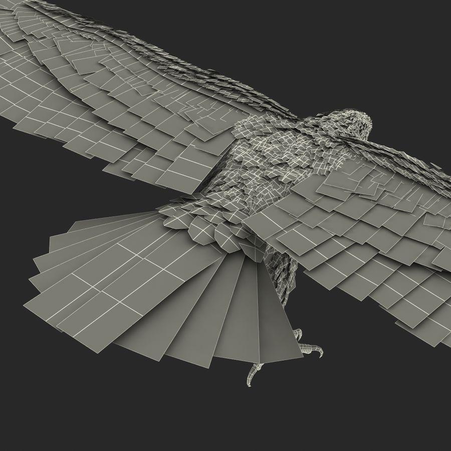 Águila dorada royalty-free modelo 3d - Preview no. 31