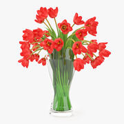 Fleurs de tulipes 3d model