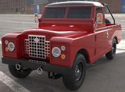 Land Rover iia 109 3d model