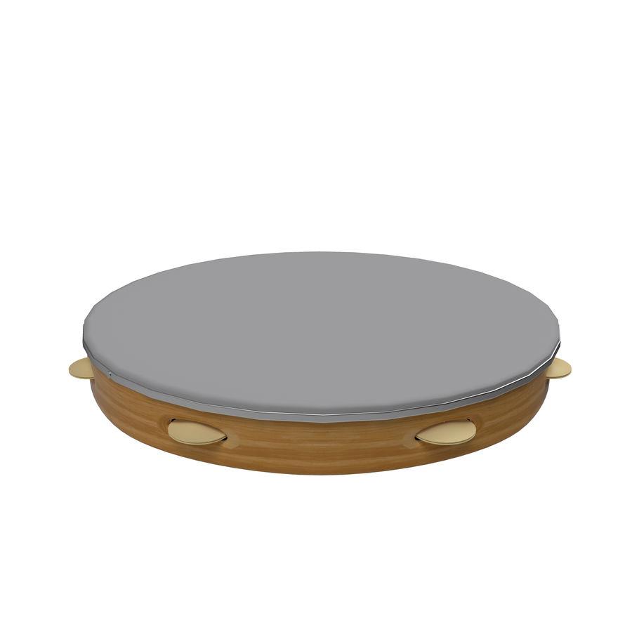 手鼓 royalty-free 3d model - Preview no. 1