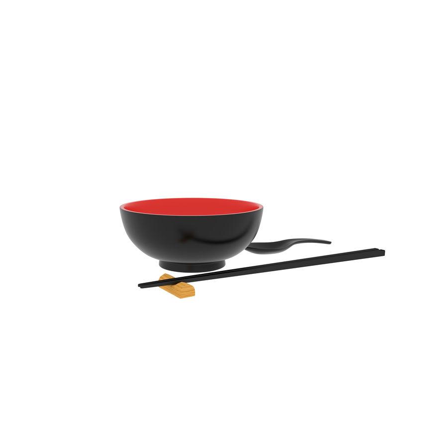 日本厨具 royalty-free 3d model - Preview no. 2