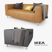 IKEA Klippan Loveseat Sofa 3d model