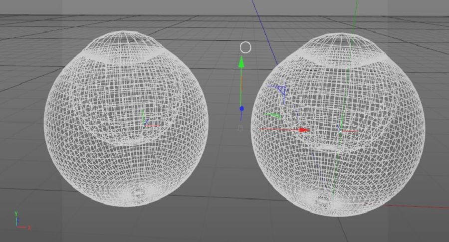 Eyeballs royalty-free 3d model - Preview no. 7