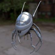 ノミのボット 3d model