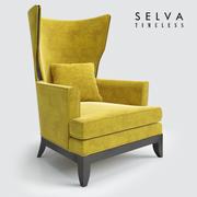 안락 의자 셀바 3d model