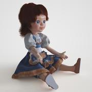 Soviet dolls 3d model