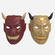 Mask Demon 3d model