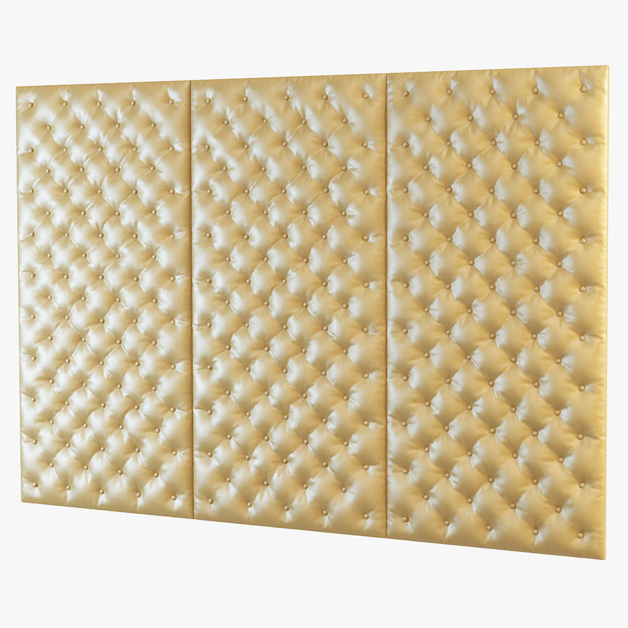 Decorative wall panel royalty-free 3d model - Preview no. 2
