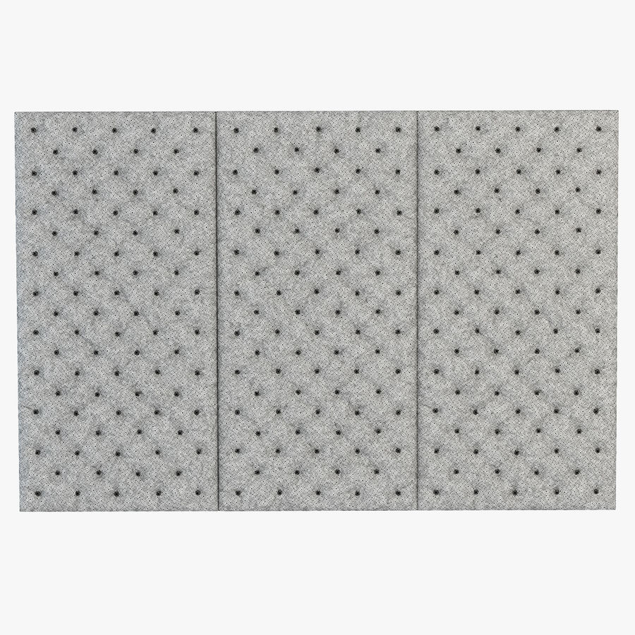 Decorative wall panel royalty-free 3d model - Preview no. 4