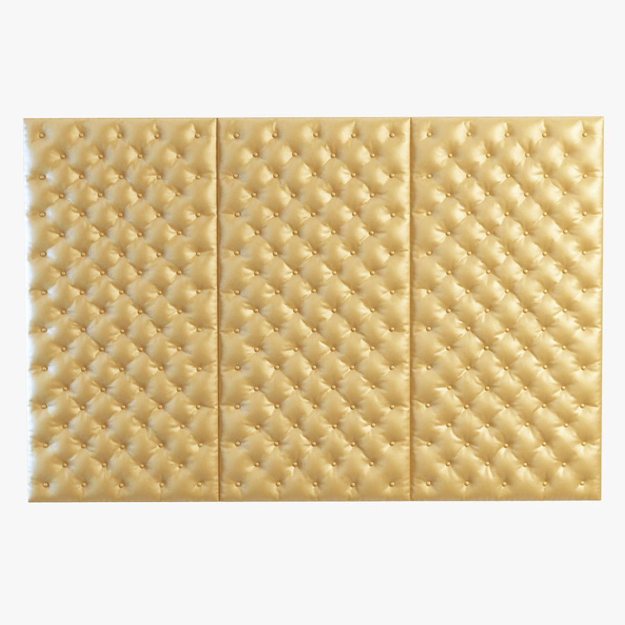 Decorative wall panel royalty-free 3d model - Preview no. 1