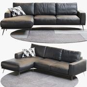 BoConcept Carlton Sofa 1 3d model