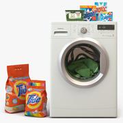 Çamaşır makinesi 3d model