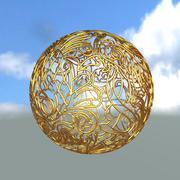可印刷装饰球 3d model