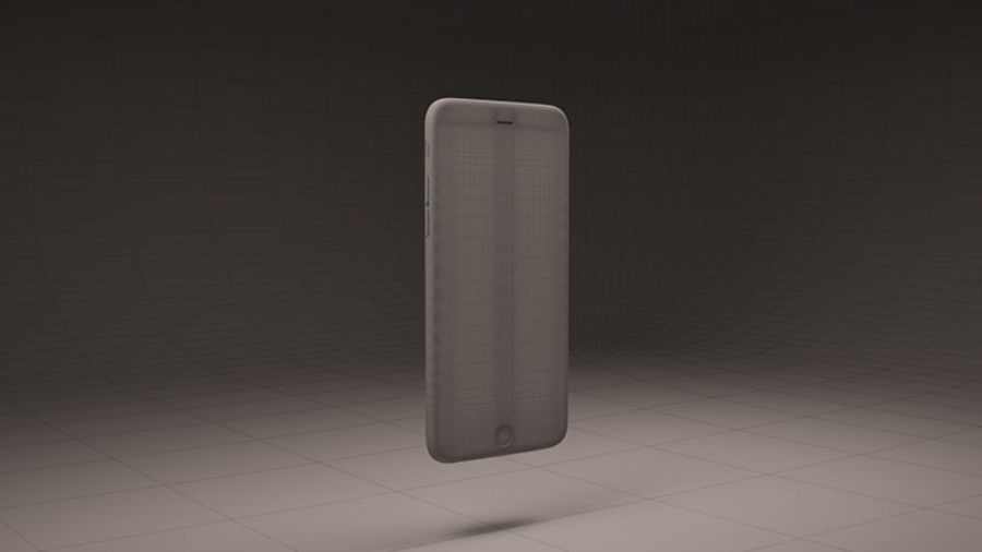 Apple iPhone 6S Guld royalty-free 3d model - Preview no. 8