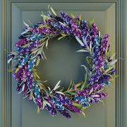 Lavander Wreath 3d model