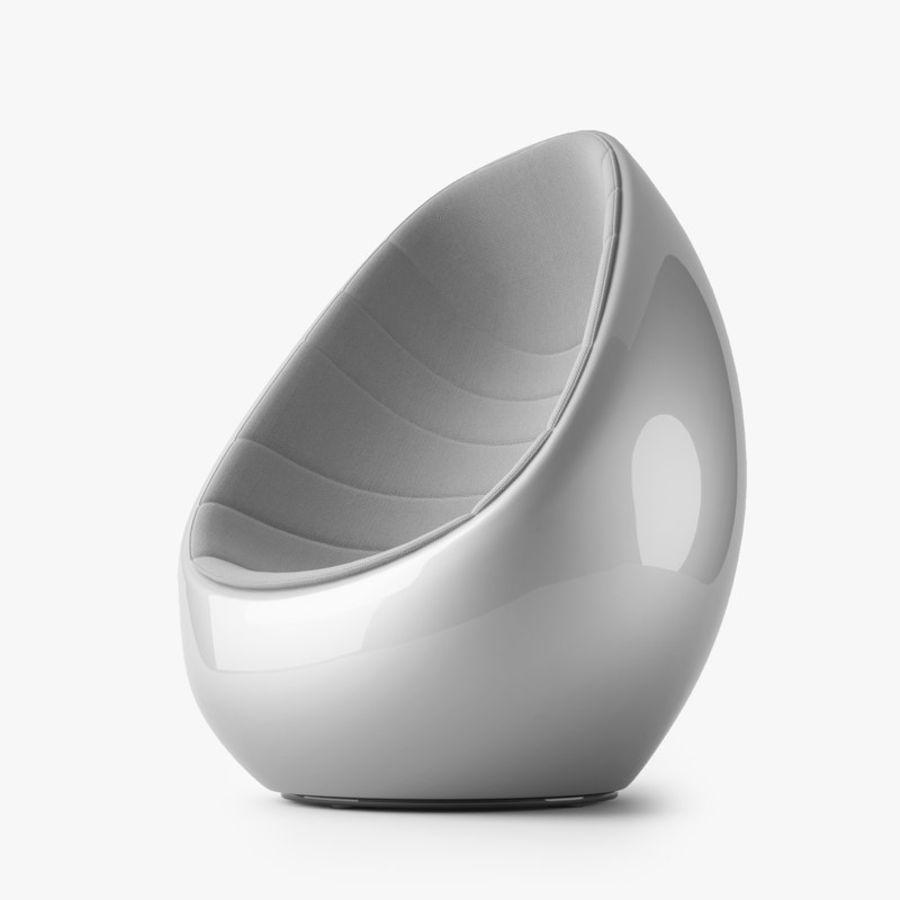 Martela Koop Sandalye Tasarımı Rashid Karim royalty-free 3d model - Preview no. 8