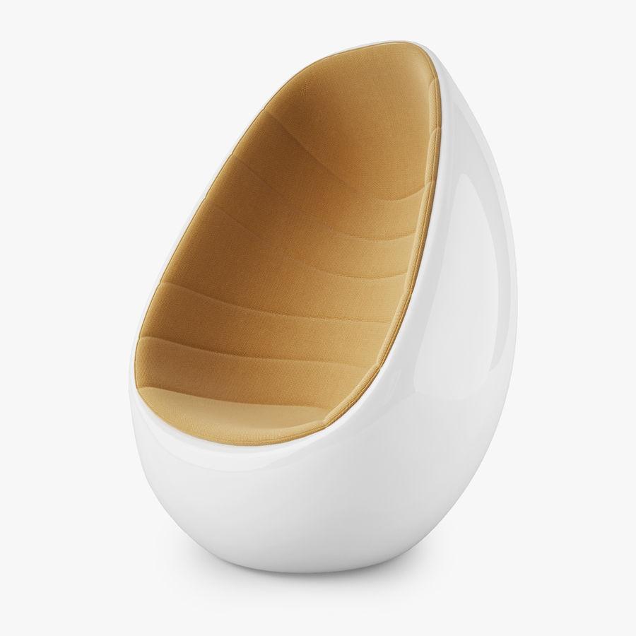 Martela Koop Sandalye Tasarımı Rashid Karim royalty-free 3d model - Preview no. 2