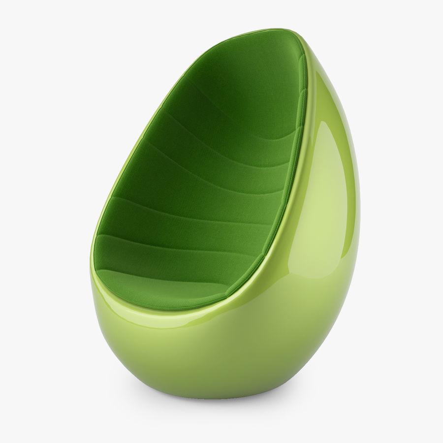 Martela Koop Sandalye Tasarımı Rashid Karim royalty-free 3d model - Preview no. 5