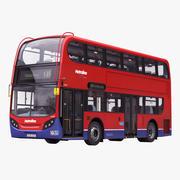 London Bus Enviro400 3d model