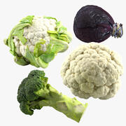 Gemüse 3d model
