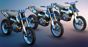 먼지 자전거 3d model