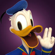 Donald Duck Pro 3d model