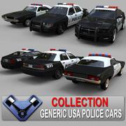 Generisk polisuppsättning 01 3d model