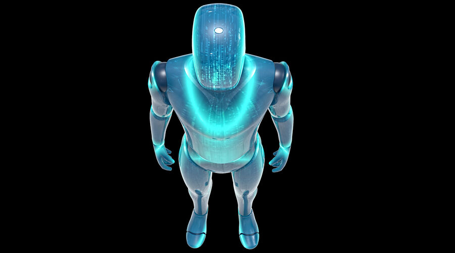 Android royalty-free 3d model - Preview no. 7