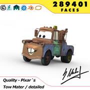 Pixar Cars - Tow Mater 3d model