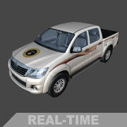 Toyota Hilux ISIL (tiempo real) modelo 3d