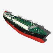 Schiff Soja 3d model