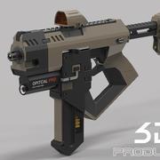 Concept Gun 3d model
