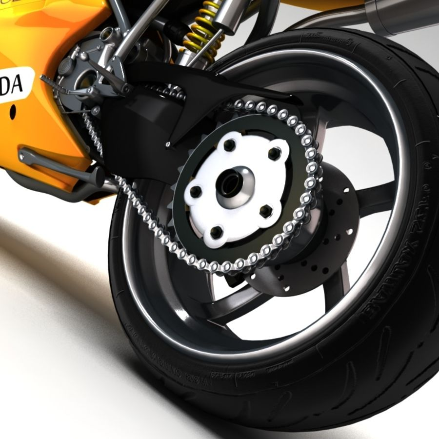 Ducati 748 royalty-free 3d model - Preview no. 5