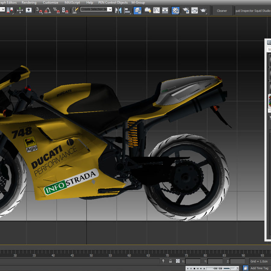 Ducati 748 royalty-free 3d model - Preview no. 19