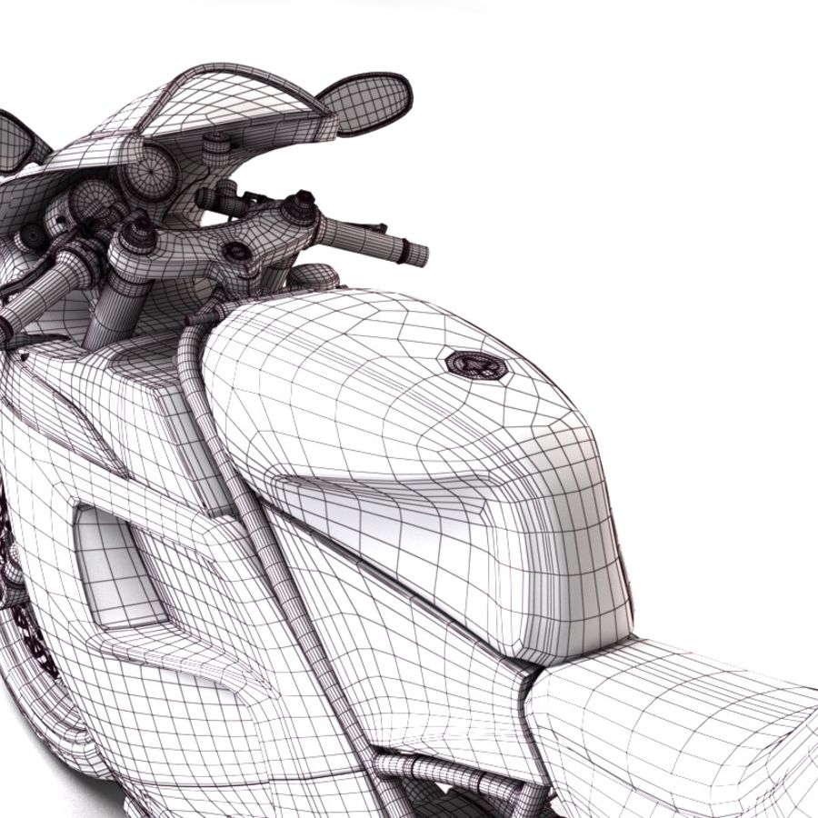 Ducati 748 royalty-free 3d model - Preview no. 13