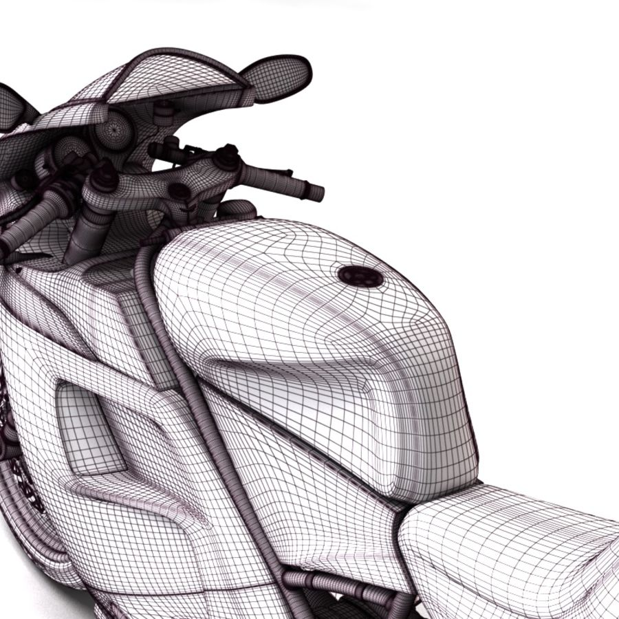 Ducati 748 royalty-free 3d model - Preview no. 14