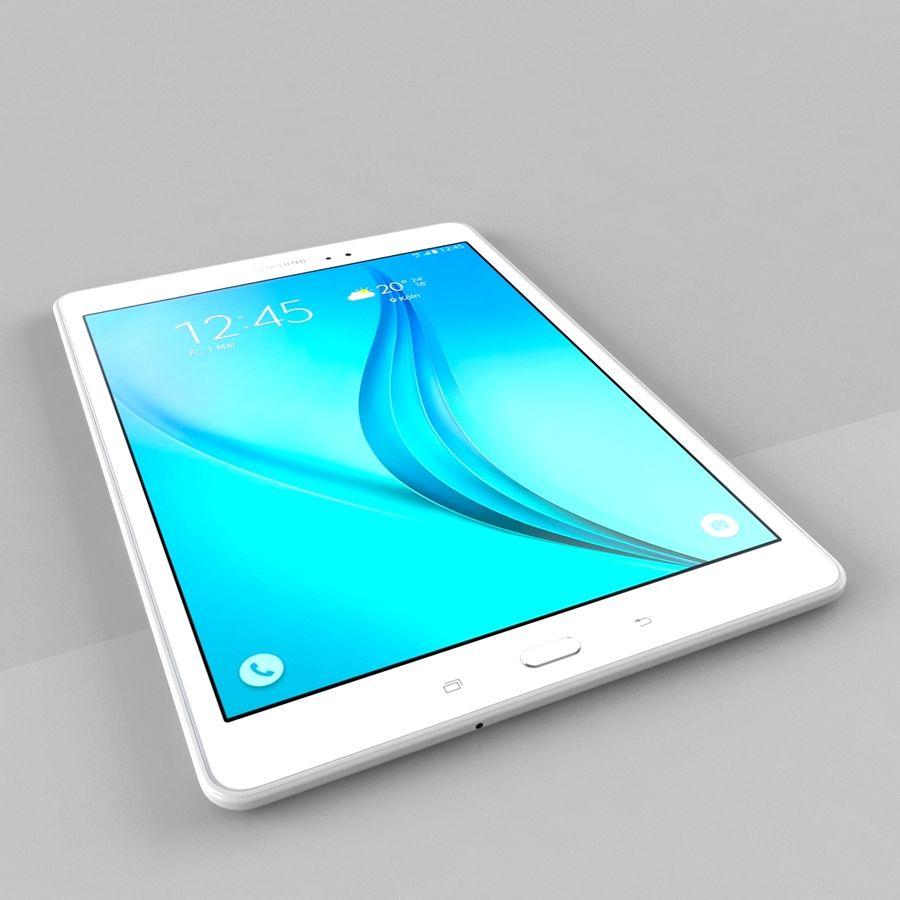 三星Galaxy Tab A 9.7 royalty-free 3d model - Preview no. 5