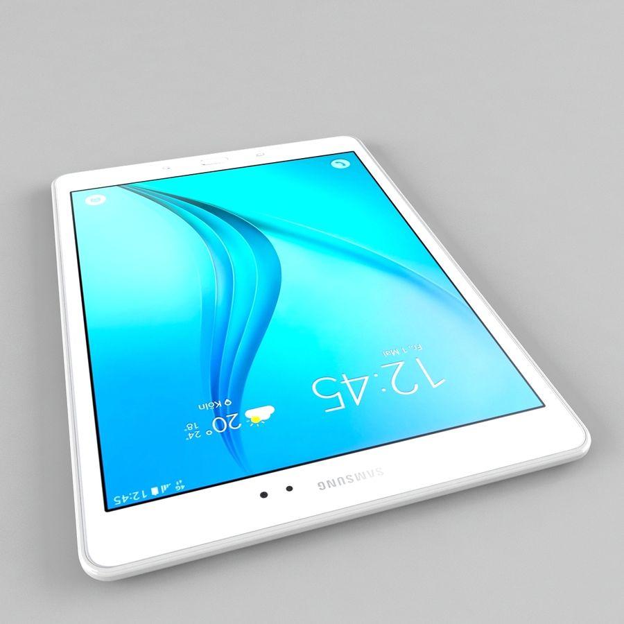 三星Galaxy Tab A 9.7 royalty-free 3d model - Preview no. 6
