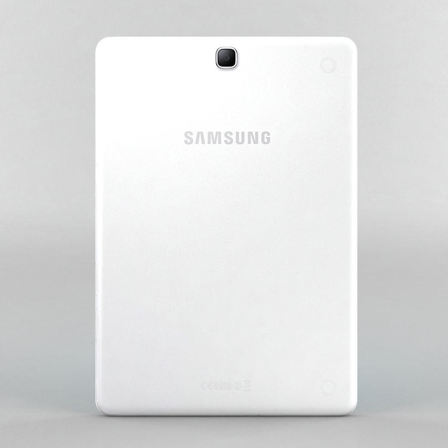 三星Galaxy Tab A 9.7 royalty-free 3d model - Preview no. 3