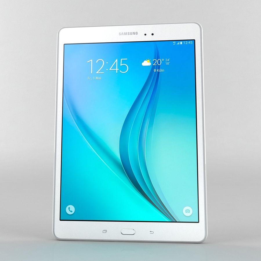 三星Galaxy Tab A 9.7 royalty-free 3d model - Preview no. 1