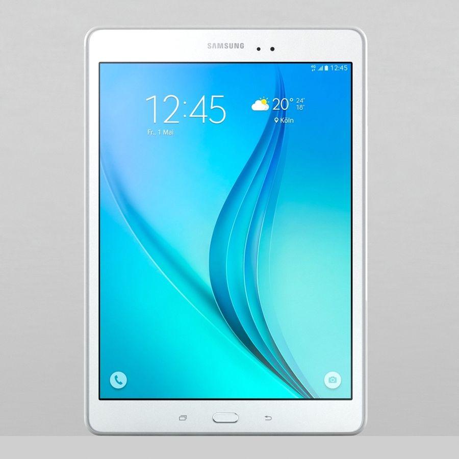 三星Galaxy Tab A 9.7 royalty-free 3d model - Preview no. 2