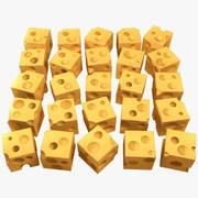 치즈 3d model