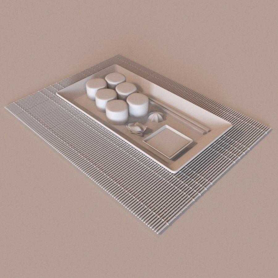 Sushi Set royalty-free 3d model - Preview no. 4