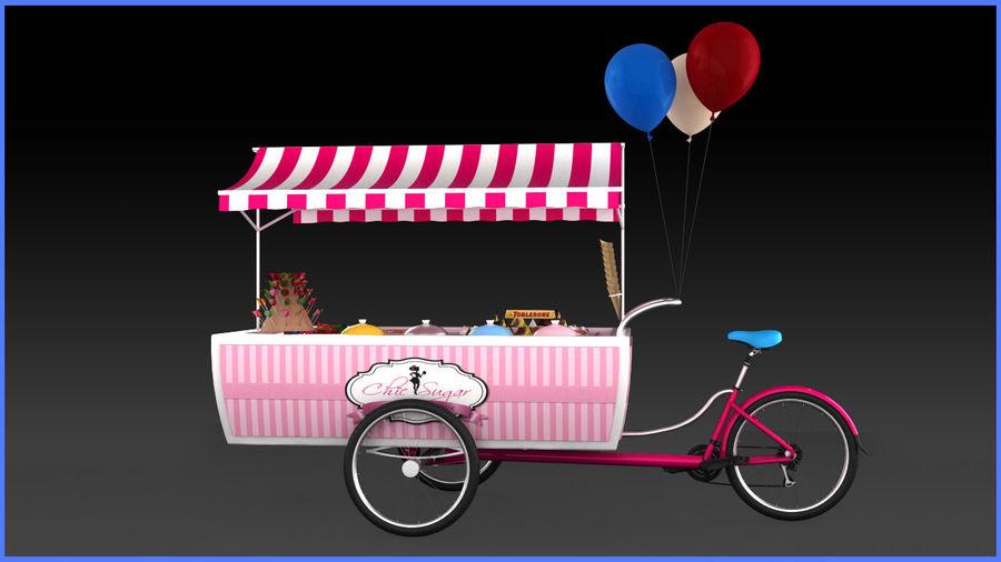 Carrinho de doces royalty-free 3d model - Preview no. 6