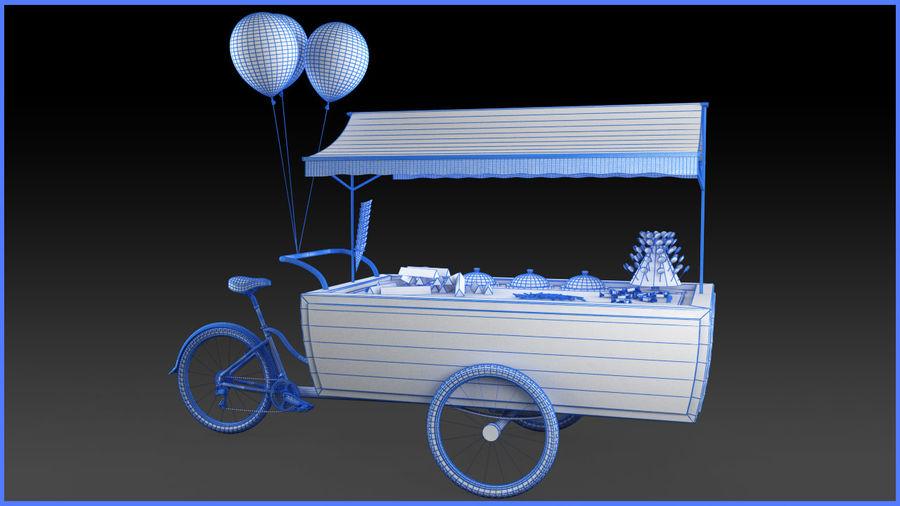 Carrinho de doces royalty-free 3d model - Preview no. 10