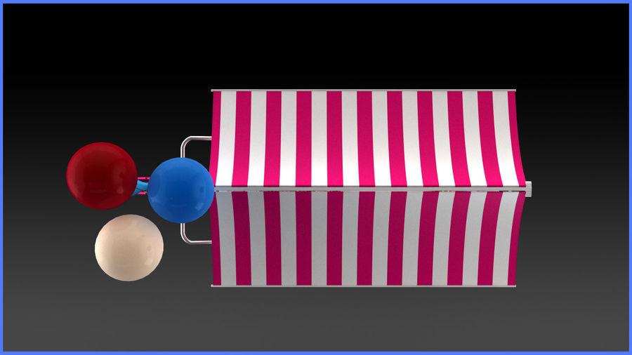 Carrinho de doces royalty-free 3d model - Preview no. 9