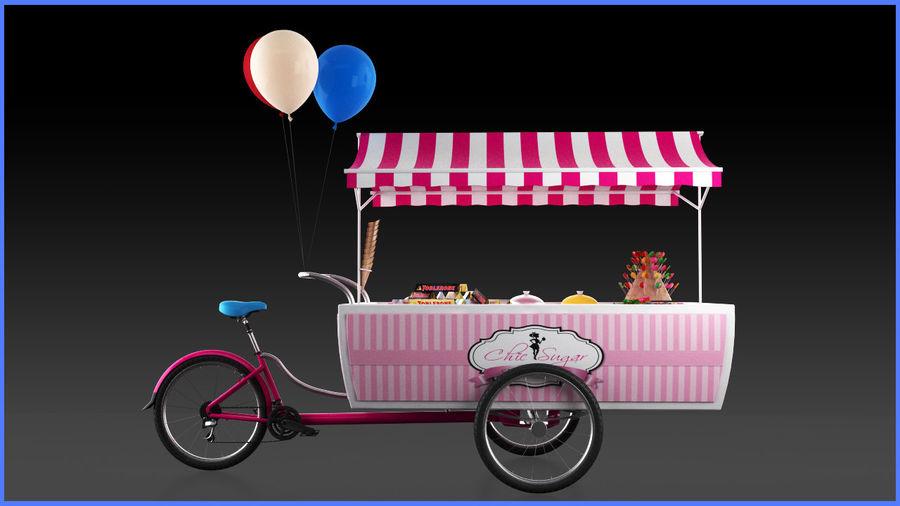 Carrinho de doces royalty-free 3d model - Preview no. 4