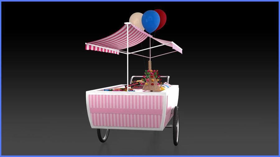 Carrinho de doces royalty-free 3d model - Preview no. 7
